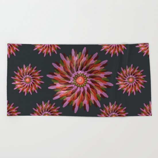 Falling Bloom Beach Towel