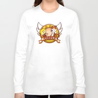 hobbes Long Sleeve T-shirts featuring Calvin and Hobbes: Hobbes The Stuffed Tiger by Macaluso