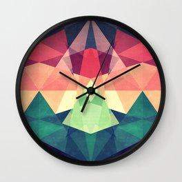 Looking at stars Wall Clock