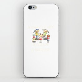 A Group Of Kids Is Called A Migraine design For Mom Birthday iPhone Skin