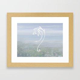 Sigil of Calm Framed Art Print