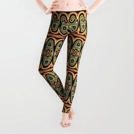 Ethnic geometric pattern Leggings