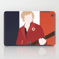 enjolras iPad Cases featuring ENJOLRAS – LES MISÉRABLES by K. Frank