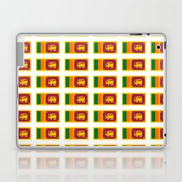 flag of sri lanka- ශ්රී ලංකා,இலங்கை, ceylon,Sri Lankan,Sinhalese,Sinhala,Colombo. Laptop & iPad Skin