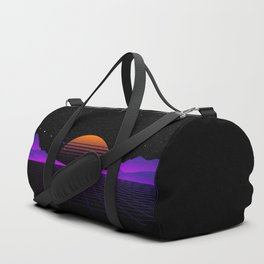 Vaporwave Outrun | Eighties Style Duffle Bag