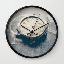 Smashed Wrist Watch Wall Clock