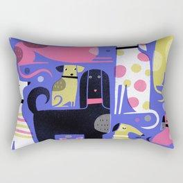 DOG PARK Rectangular Pillow