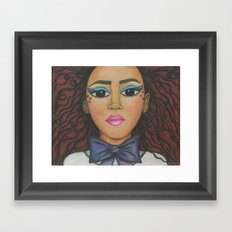 Nubina Framed Art Print