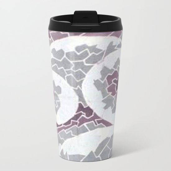 Angry Ocean Metal Travel Mug