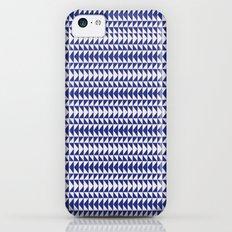 Blue Folk Art iPhone 5c Slim Case