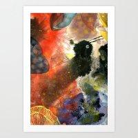 Fuzzy Art Print