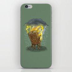 Bad Day Log II iPhone & iPod Skin