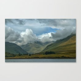 Cloudy afternoon in Connamara Canvas Print