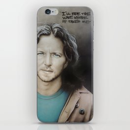 'E. Vedder' iPhone Skin