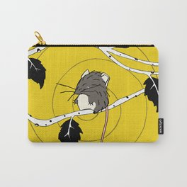 Mouse in Tree by Amanda Jones Carry-All Pouch