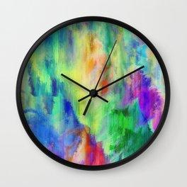 Paint Grunge Wall Clock