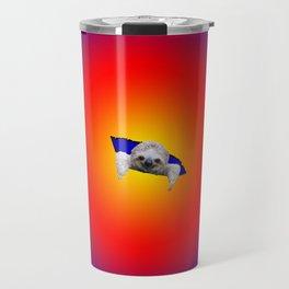Starburst Sloth Travel Mug