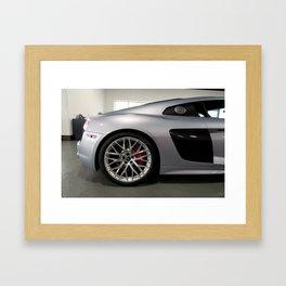 Grey & Carbon Framed Art Print