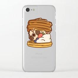 Puglie Waffles Clear iPhone Case