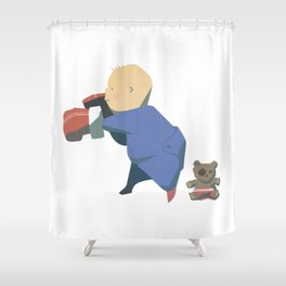 Rompers Boxer Shower Curtain
