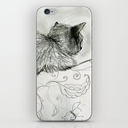 Fluffers on the Sofa iPhone Skin