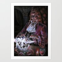 The End of Emptiness Part I Art Print