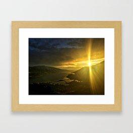 Rowena Sunrise Framed Art Print