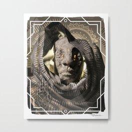 The Falling Dusk Metal Print