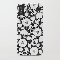 clear cut flowers Slim Case iPhone X