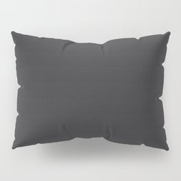 Simulated Black Carbon Fiber Pillow Sham