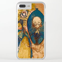 Will and Anne #2 Clear iPhone Case