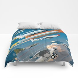 100 Years of Aviation Comforters