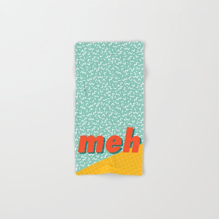 Meh Hand & Bath Towel