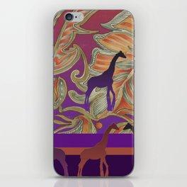 boho morocco iPhone Skin