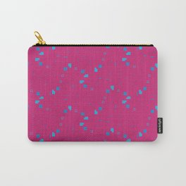 Simple Geometric Pattern 3 lbpi Carry-All Pouch