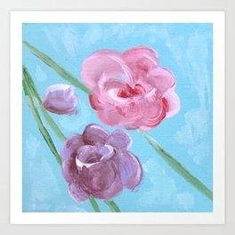 Roses in Bloom Art Print