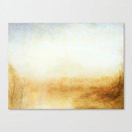 Joseph Mallord William Turner - Landscape Canvas Print