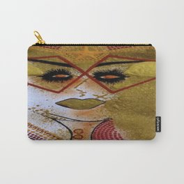 GOLDen earth Lady tetkaART Carry-All Pouch