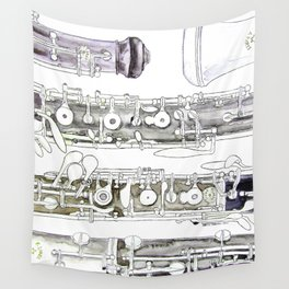 Hautbois Wall Tapestry