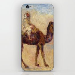 "Auguste Renoir ""A dos de chameau"" iPhone Skin"