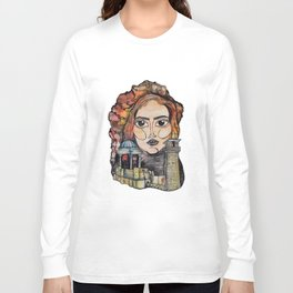 Woman in Refuge Long Sleeve T-shirt