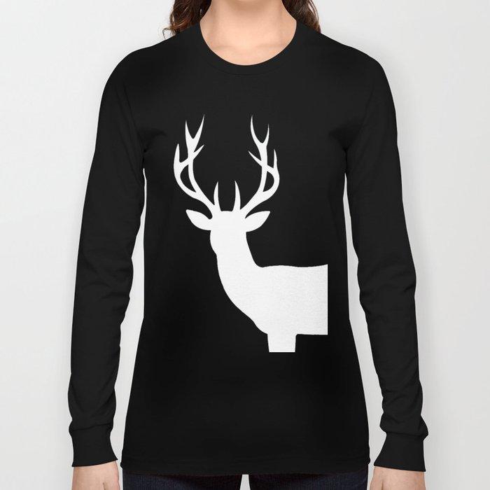 The White Deer  Long Sleeve T-shirt