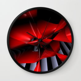 opart imaginary -12- Wall Clock