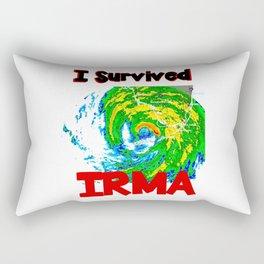 I Survived Hurricane Irma Rectangular Pillow