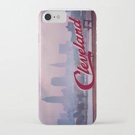 Homesick - Cleveland Skyline iPhone Case