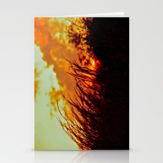 Sunset Brings the Wind Stationery Cards