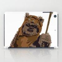 ewok iPad Cases featuring Yubnub! by Hey!Roger