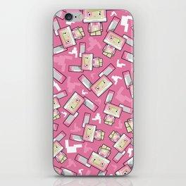 Cute Cartoon Blockimals Bunny Rabbit iPhone Skin