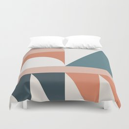 Cirque 03 Abstract Geometric Duvet Cover