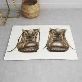 old boot Rug
